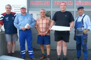 Freiwlillige Helfer in Müllenbach