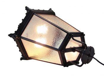 Altstadtleuchte 45 mit Pandia Plato - leuchtet