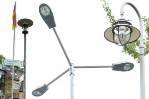 Zylk, Caso und Prestige - gut zu erkennen, die ENDRES Lighting Pandia Top-Hat Leuchtmittel