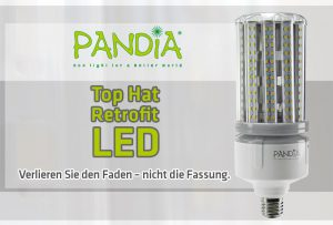 Pandia Top-Hat Retro-Fit LED von ENDRES Lighting