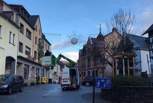 Weihnachtsbeleuchtung in Koblenz Güls