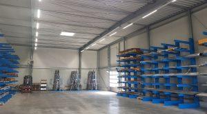 Metalllager der Metra Mittelrhein GmbH in Neuwied