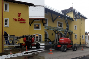 Via Salina Nesswängle Österreich